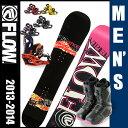 フロー(FLOW) スノーボード3点セット VIPER W(ボード):ECHO M1 BOA(ブーツ):PR(ビンディング) VIPER W 【13-14 2014モデル】