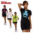ウィルソン(wilson) テニス 半袖Tシャツ(レディース) BEAR Tシャツ(W)14SU WRJ4869