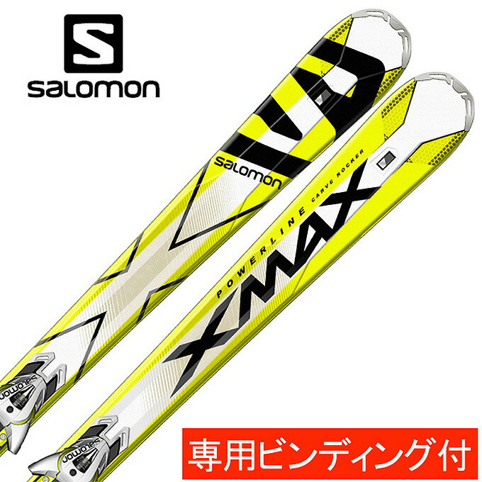 サロモン(salomon) スキー板・セット金具付 X-MAX+XT12 TI 【15-16 2016モデル】