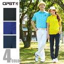 オプスト(OPST) ゴルフウェア(メンズ) 二重折ストレートパンツ OP220107F01 【2016年春夏モデル】【GMPBPT】