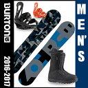 バートン(BURTON) スノーボード3点セット CLASH(ボード):MOTO AF(ブーツ):FREESTYLE(ビンディング) CLASH 【16-17 ...