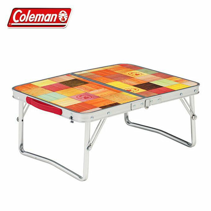 コールマンアウトドアテーブル小型テーブルナチュラルモザイクミニテーブルプラス2000026756co
