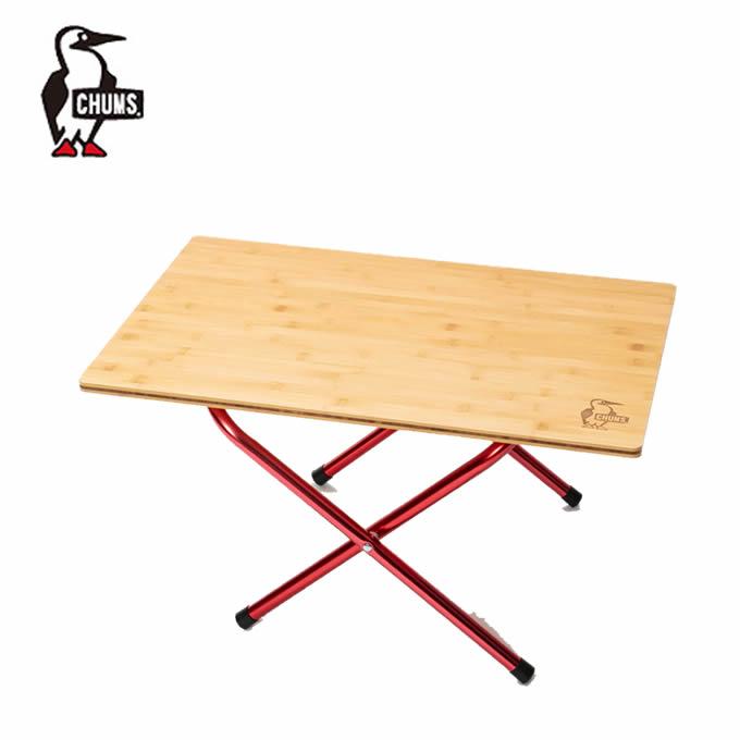 期間限定5%OFFクーポンでお得にお買い物チャムスCHUMSアウトドアテーブル小型テーブルバンブーサ