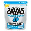 ザバス SAVAS サプリメント プロテイン ウェイトダウン ヨーグルト風味 1050g 50食分 CZ7047 run