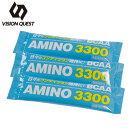 ビジョンクエスト VISION QUEST スポーツドリンク 粉末 アミノ3300 レモン風味 3袋入り VQ580303G04 run