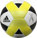 アディダス adidas サッカーボール 5号球 エックス ハイブリッド AF5646WY 検定球 sc