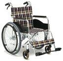 一流メーカー品☆松永製作所製送料無料☆『AR-201B』アルミ製自走用車椅子【アルミ製】【車い
