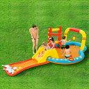 大型プール すべり台 滑り台 大型 ビニールプール 噴水 ベランダ ファミリープール キッズプール 子供用プール 子ども用プール 家庭用プール ガーデンプール すべり台付き 滑り台付き スライダー 送料無料 435x213x117CM