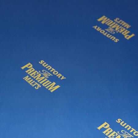 包装紙プレミアムモルツロゴ