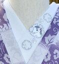 干支 白馬☆刺繍 生き物好き必須アイテム☆ワンポイント半襟