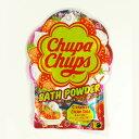 紀陽防虫菊 キャンディーのような入浴剤 チュッパチャップス バスパウダー 60g ストロベリークリームソーダの香り