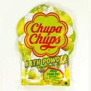 紀陽防虫菊 キャンディーのような入浴剤 チュッパチャップス バスパウダー 60g メロンクリームソーダの香り