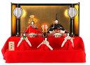 【早割】雛人形 ひな人形 雛 毛氈三段飾り 五人飾り 駿河雛人形 望月麗光作 江戸古今 十番親王 極上本頭 正絹 雲龍円文 【2020年度新作】 h313-kts-tjs-edo501kokin ひな祭