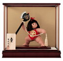 五月人形 吉徳 金太郎 浮世人形 ケース飾り 8号 童 まさかり 【2019年度新作】 h315-ys-503257