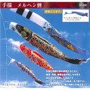 手描 メルヘン鯉 4m8点(鯉5色)セット【フジサン鯉】【ポール別売り】【こいのぼり】【鯉のぼり】