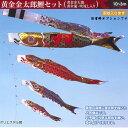 黄金金太郎鯉 4m8点(鯉5匹)セット【フジサン鯉】【鯉のぼり】