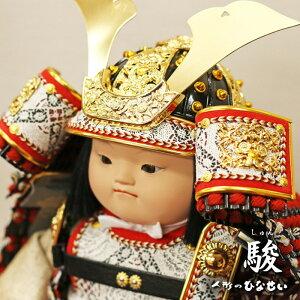 五月人形 大将飾り かわいい【幸一光 駿(しゅん)】人
