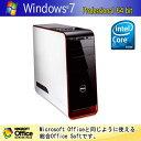 【再生PC】DELL Sutudio XPS 435T/900Corei7/6GB/BD-RE/Windows7【送料無料】【中古パソコン】【中古】