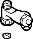 INAX(LIXIL)給水分岐金具止水栓付US/UHシリーズ用CF-004