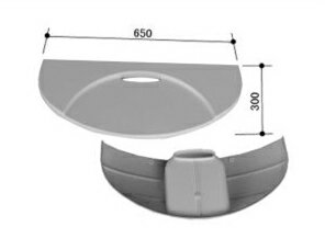 INAX(イナックス)洗面器台LUD-6530A(1)/N86