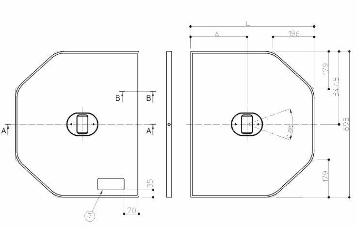 TOTO(トートー) 1300トラック浴槽用断熱ふろふた EKK84105W2