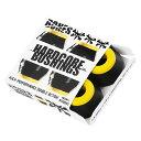 【ボーンズ ブッシュ】BONES Bush HDcore Medium Yellow/Black 4個1セット●コア