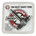 【インディ スケートツール】Independent Genuine Parts Best Skate Tool スケートレンチ BLACK●工具 DICE ネジ切り付き ベアリングプレス/リムーバー