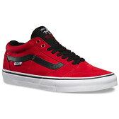 【バンズ シューズ】VANS Shoes TNT SG Bright Red/Black/White●スニーカー スケシュー