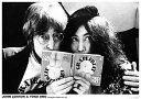 ジョン・レノン&オノ・ヨーコ/ポスター John Lennon & Yoko フレーム付