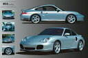 ポルシェ 911ターボ ポスター/ Porsche 911 Turbo フレーム付