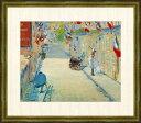 旗で飾られたミニエ街 エドゥアール・マネ作品 F8サイズ 高精細巧芸画 額装作品