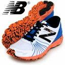 ニューバランス レーシングシューズ RC700 2E New BALANCE ホワイト/オレンジ