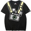 ショッピングキッズカメラ 【公式】 HIPANDA 送料無料 キッズ カメラマンHIPANDA プリント 半袖Tシャツ / KIDS CAMERA MAN HIPANDA PRINTED SHORT SLEEVED T-SHIRT