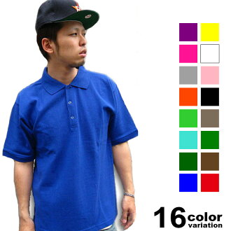 Short sleeve cotton polo shirt (17 colors), DOUBLE (double)