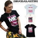 フィットネス Tシャツ レディース DANCE UNLIMITED (ダンス アンリミテッド) (3色) [DU-1401] / 3枚以上で2646円!! 【ダンス 衣装 ヒッ..