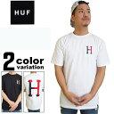 【huf tシャツ】 HUF (ハフ) Tシャツ 半袖 2 tone CLASSIC H TEE [TS54002] 【huf tシャツ メ...