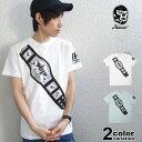 ハオミン Tシャツ HAOMING × 豆腐プロレスWIP コラボ WIPチャンピオンベルトTshirt メンズ レディース TP1802-01