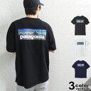 patagonia パタゴニア Tシャツ 半袖 P-6 ロゴ...