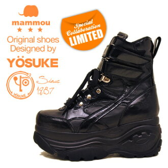 YOSUKE U.S.A Yosuke x mommou thickness bottom platform form sneakers thickness bottom Boots Sneakers thickness bottom sneakers Skechers type! * A reservation and what 9/25 EST.