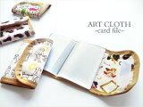 カードファイル(カードケース) ◆アートクロス サングラス/アパートメント/サンポ/キャッツ【HIRAMEKI./ヒラメキ】
