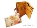 ベロ付き財布 ◆スタンラン ミルク【】【HIRAMEKI./ヒラメキ】