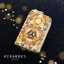 L型マチ付きキーケース ◆ホワイトキャンバス ステラ【HIRAMEKI./ヒラメキ】