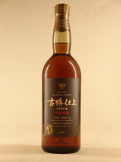Suntory malt whiskey old barrel finish [1991] Suntory Hurutarusiage