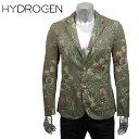 HYDROGEN ハイドロゲン メンズ ジャケット 160503 MILITARY CLASSIC JACKET 871 DARK GREEN FLOWERS