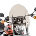 スリップ ストリーマー Slip Streamer ウインドシールド ミニポリス 7/8インチ、1インチバー スモーク 559054 HD店
