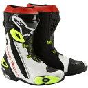 アルパインスターズ Alpinestars ブーツ Supertech-R 黒/白/黄 45サイズ 29.5cm 8033637914589...