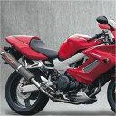 ヤマモトレーシング スリップオンマフラー VTR1000F デュアル カーボン 11002-02NCB HD