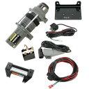 【USA在庫あり】 ムース MOOSE Utility Division ウインチ 1,800Kg 有線リモコン/合成繊維ロープ 4505-...
