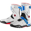 【USA在庫あり】 3403-0684 アイコン(ICON) ブーツ RAIDEN DKR 青/赤/白 8サイズ 26cm