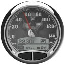 47-5527 8960-00156-01 Medallion Instrumentation スピードメーター キット スカル